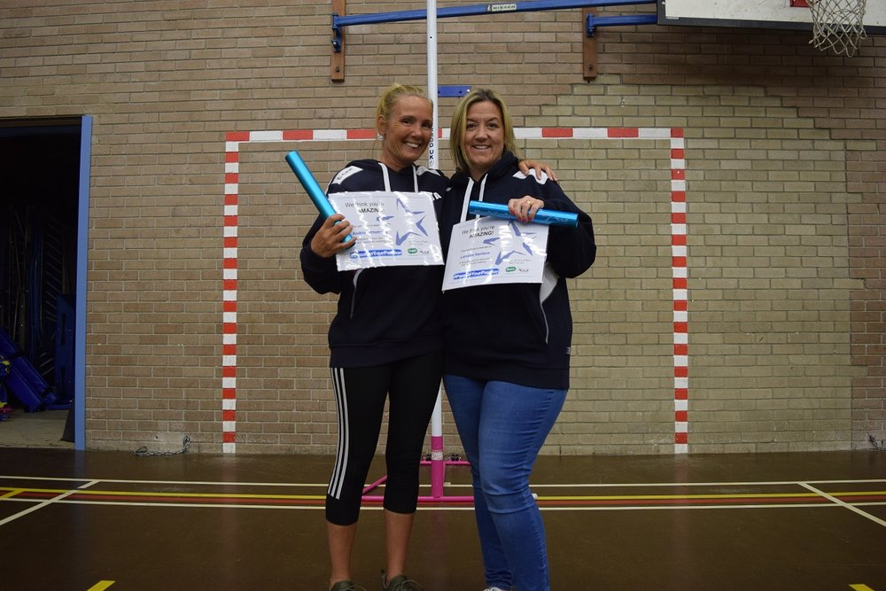 Andria & Lorriane - Washington Junior Netball Club
