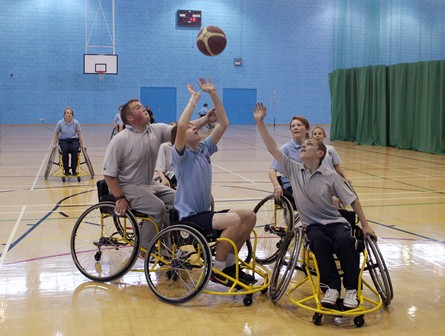 British Wheelchair Basketball -