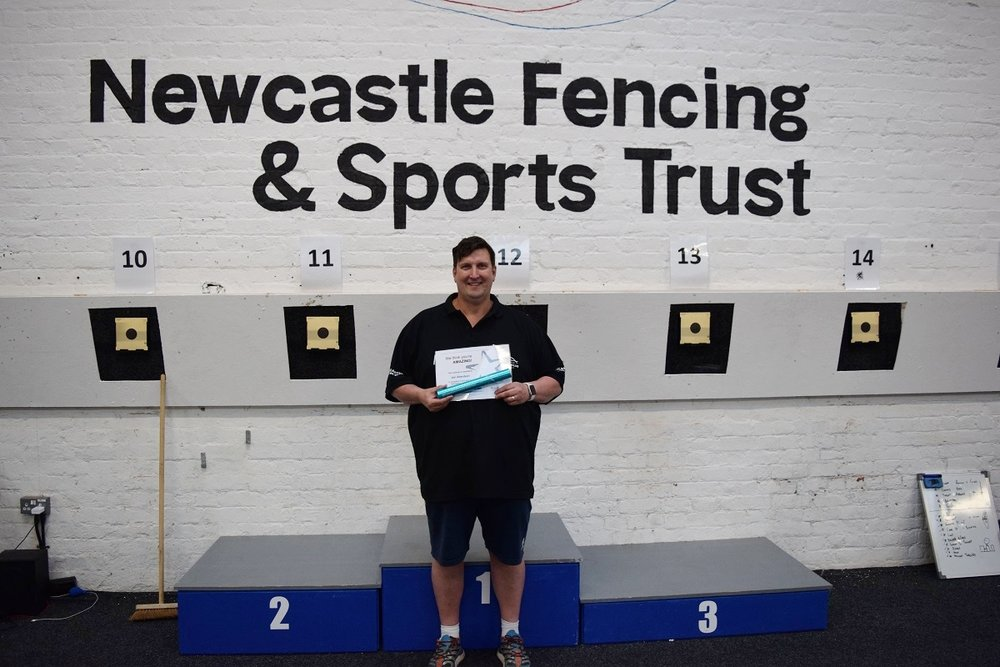 Iain Aberdeen - Newcastle Fencing & Sports Trust