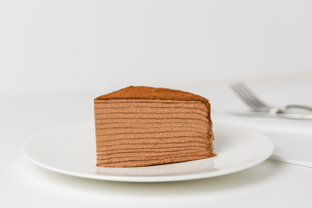 mille crepe chocolate