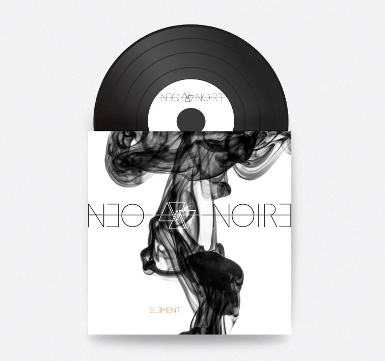 ELEMENT (Vinyl/Signed) - Brand new NEO NOIRE album ELEMENT.Pressed on one sided 180 gram vinyl, with gatefold Cover. Bonus Track INFINITE SECRETS comes with free digital download code.Price: CHF 25 / EUR 20 / USD 25Additional cost for shipping apply.
