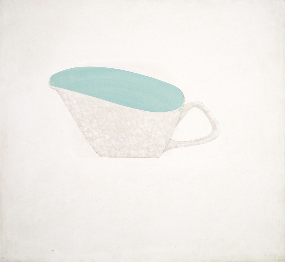 Sauce Boat  Acrylic and Pencil on Gesso Panel  13.5'' X 12.5''
