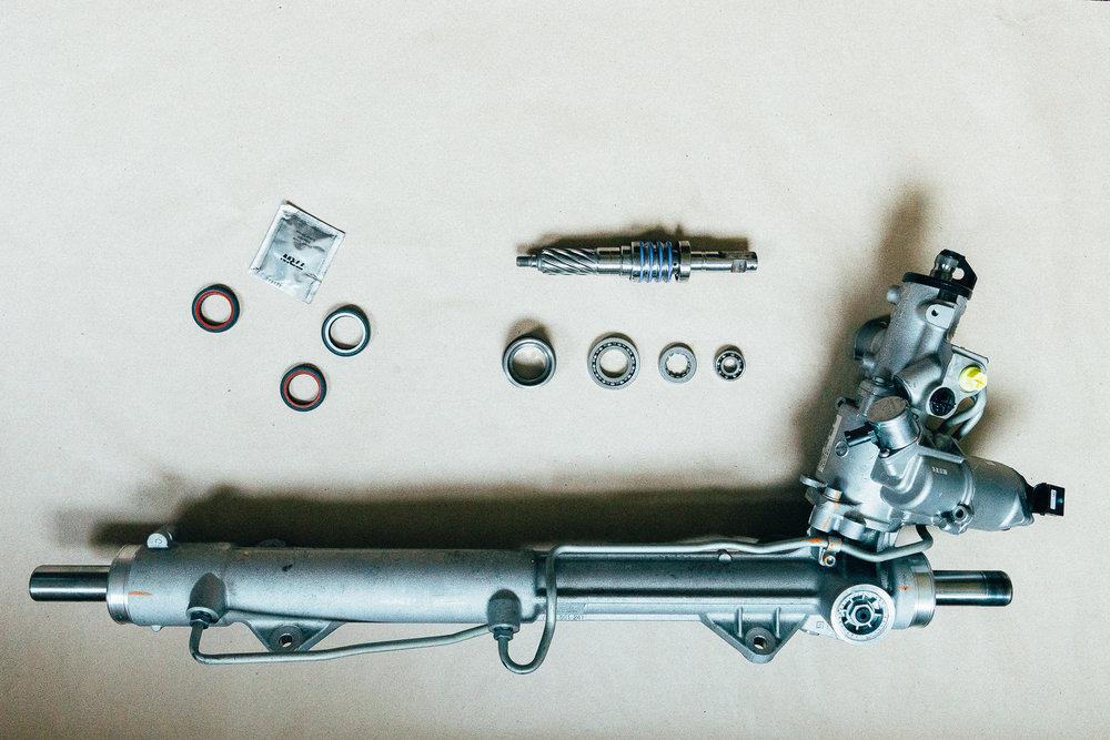 Восстановленный агрегат по заводской технологии ZF Lenksysteme Gmbh. Сервисный центр по ремонту рулевого управления Steering.by