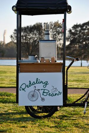 Pedalling Beans coffee.... what a great idea. pedallingbeans.wix.com