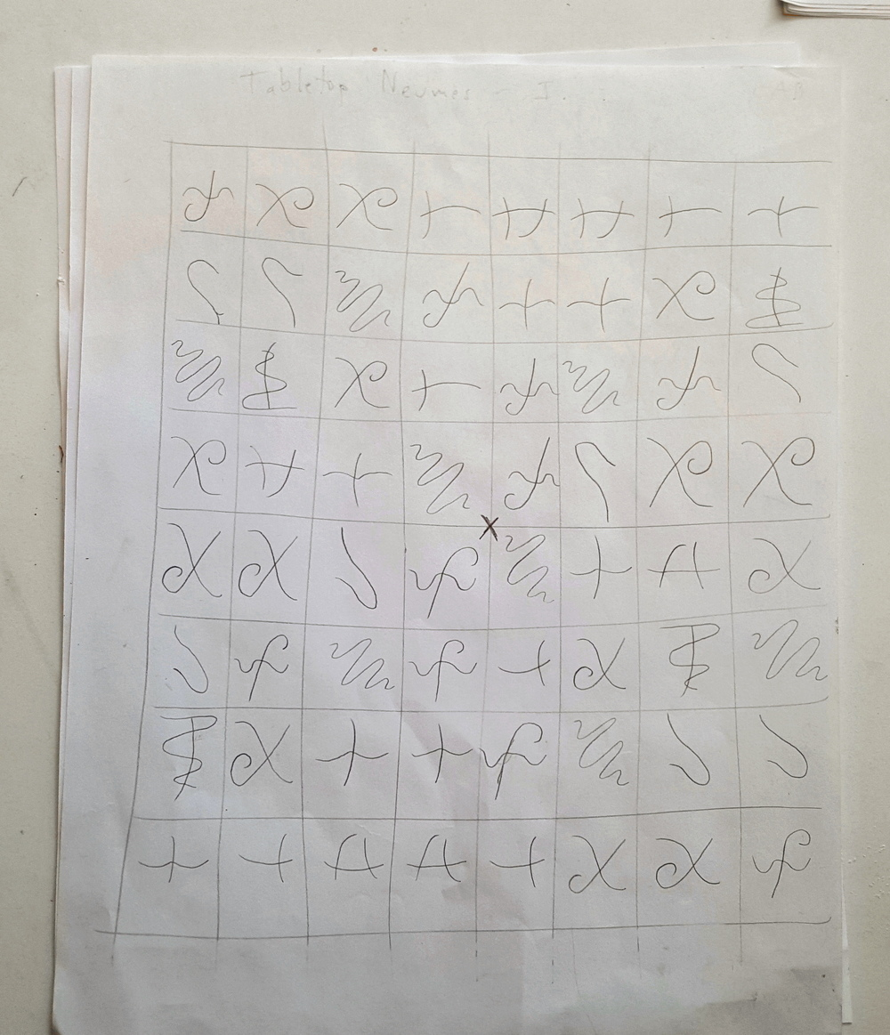 Tabletop Neumes