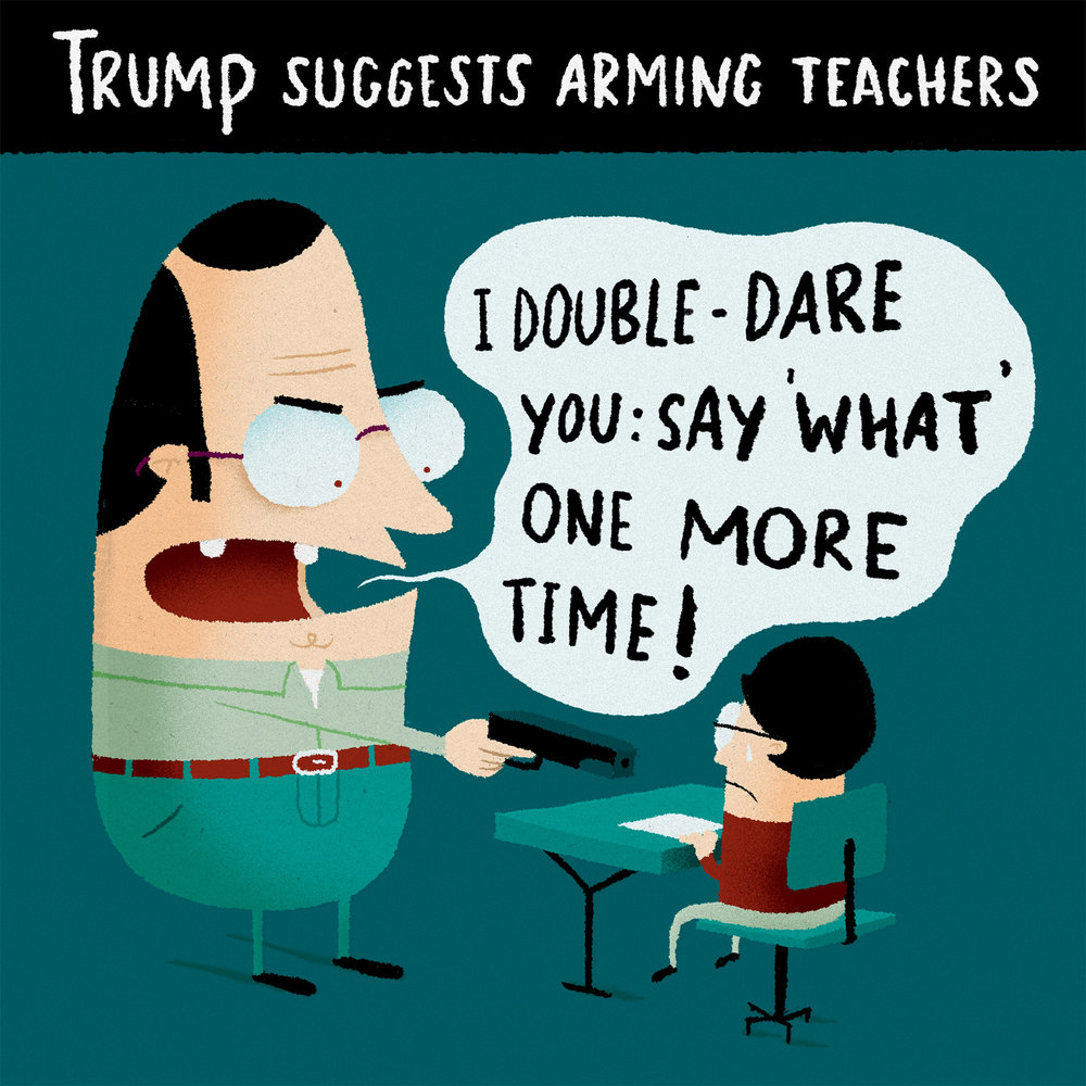 february 22  ‐  arming teachers