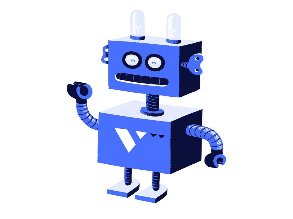 Tinn, de robot.