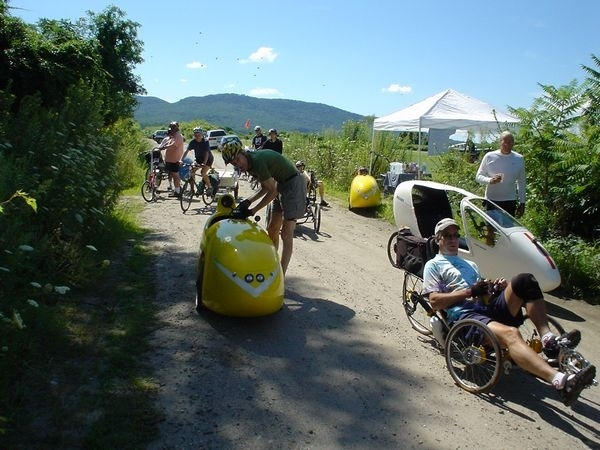 New England Human Powered Vehicle Rally - July 13, 2018, Portsmouth, New Hampshire