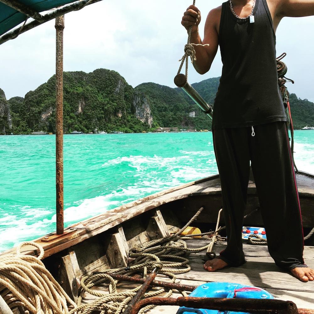 Koh Phi Phi Longboat Taxi