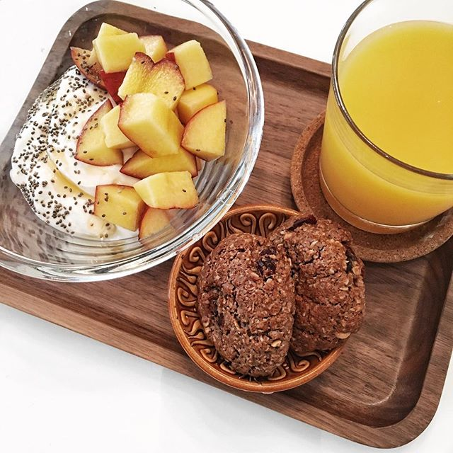 Healthy breakfast...with cookies #💪🏼😉