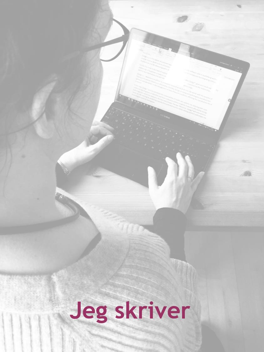 Jeg skriver artikler, blogs og lærebøger, hvis du er interesseret, så se med her!