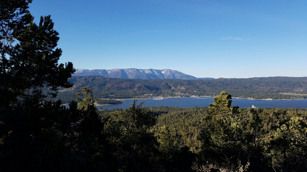 Hiking around Big Bear Lake