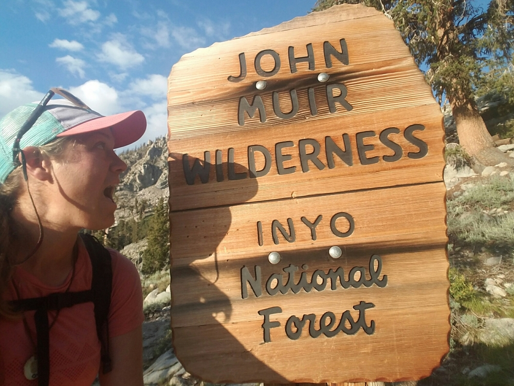 entering John Muir Wilderness!