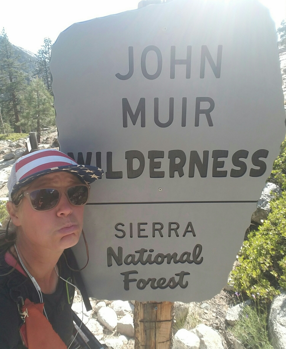 leaving the John Muir Wilderness :(