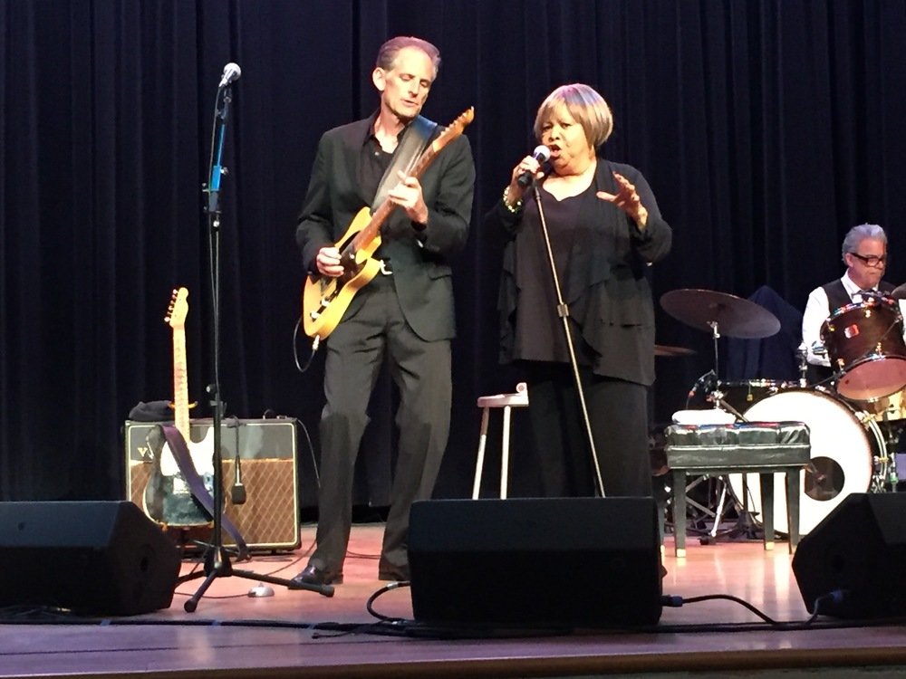 Rick Holmstrom & Mavis Staples