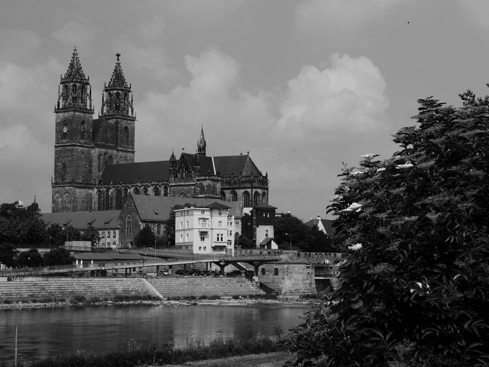 Magdeburg Cathedral , near our first few night's lodging.