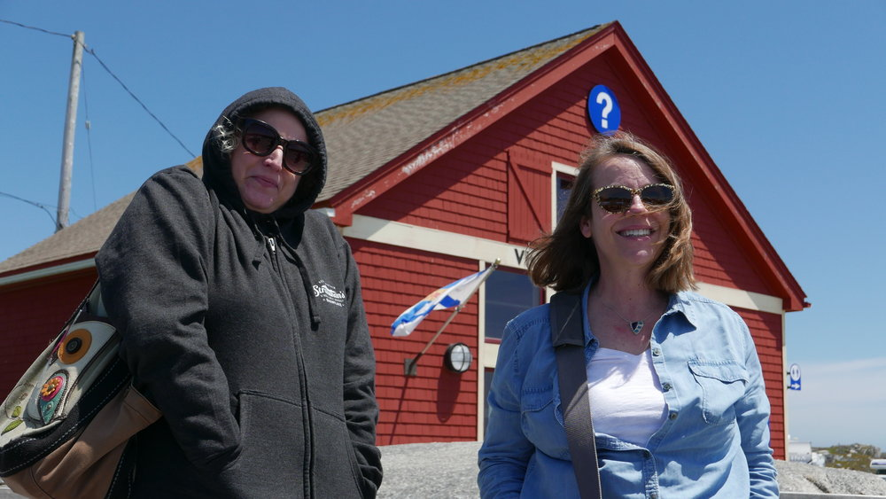 S&J at Peggy's Cove
