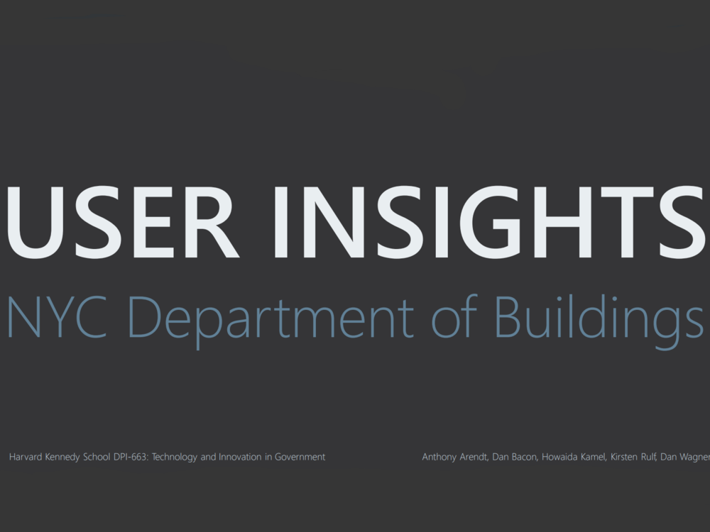 User Insights