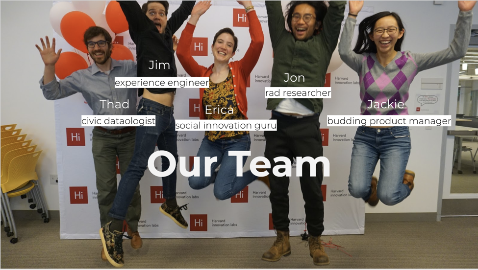 While we didn't start out as design professionals, our teaching team pointed us in the right direction to jump!
