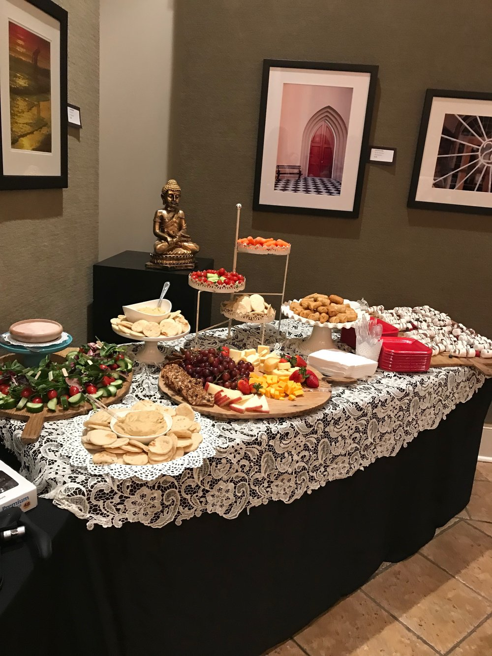 Catering - Having an event somewhere else and need yummy catering? We got you. Just drop us a line to let us know what you have in mind and we'll take care of the rest.