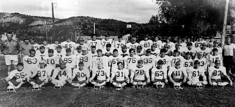 1974 Football Team