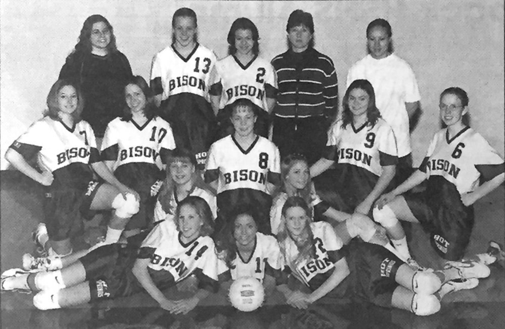 2000 & 2001 Hot Springs Lady Bison Volleyball Teams