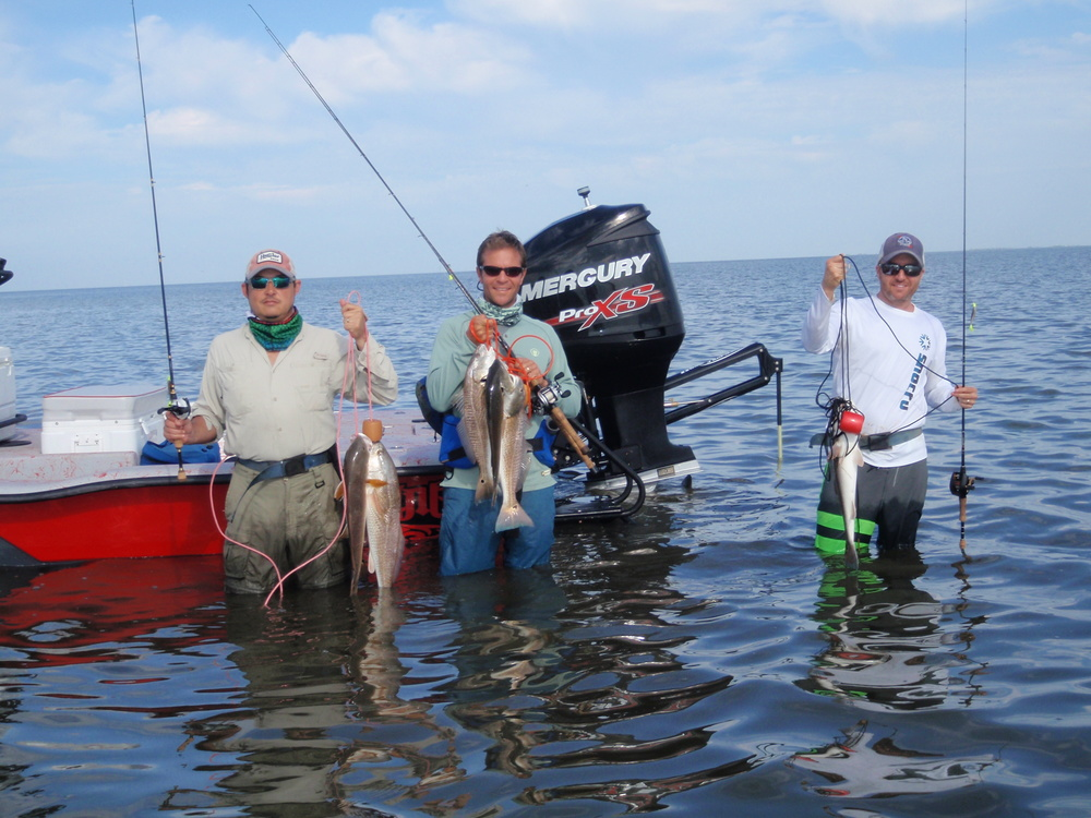 Captain charlie paradoski matagorda bay fishing trips for Matagorda fishing guides