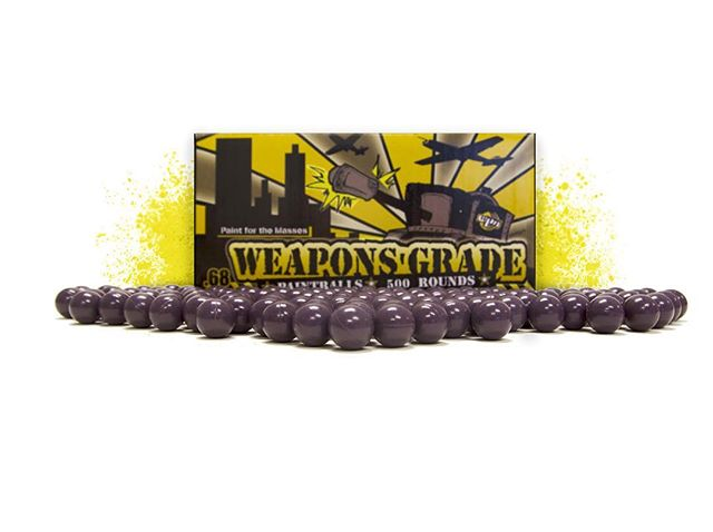 Good things come in small packages 📦  #weaponsgrade #500rounds  #wpnpaintballs