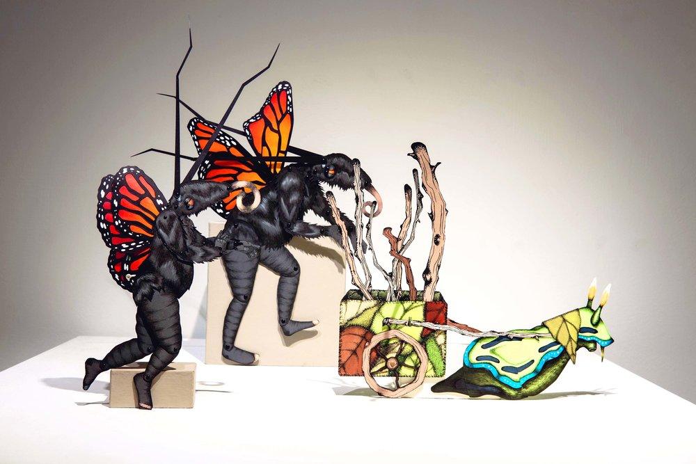 Lepidopter Sapien Puppet Set