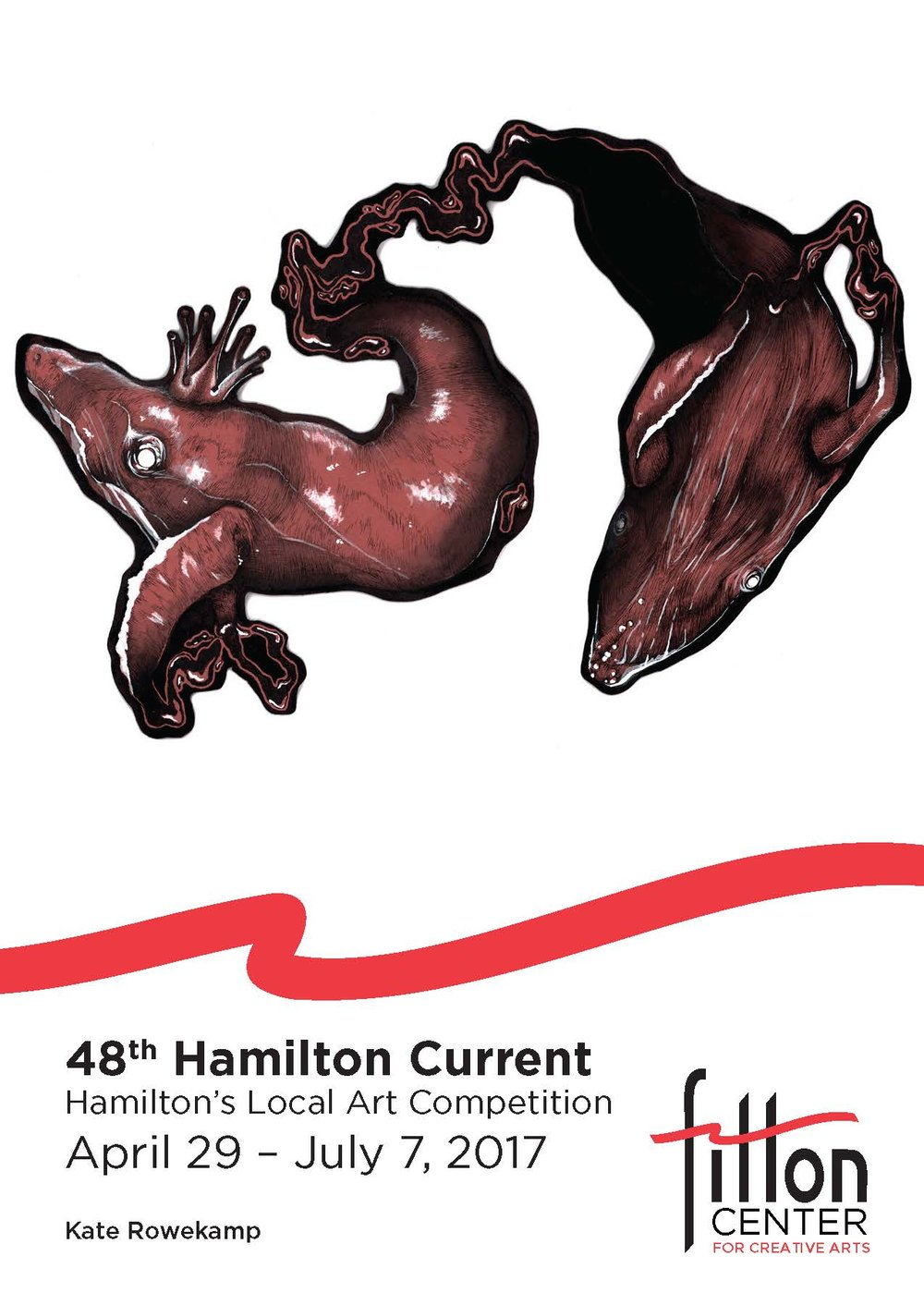Hamilton Current  April 29 - July 7, 2017   Fitton Center for Creative Arts   101 S. Monument Ave.   Hamilton, OH 45011