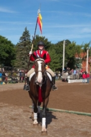 Bud during a Musical Ride Performance