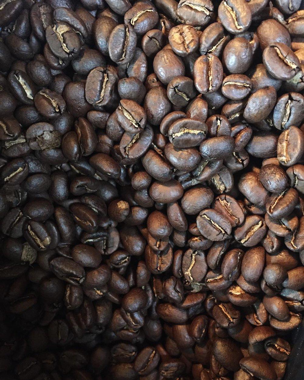 Coffee, duh! -