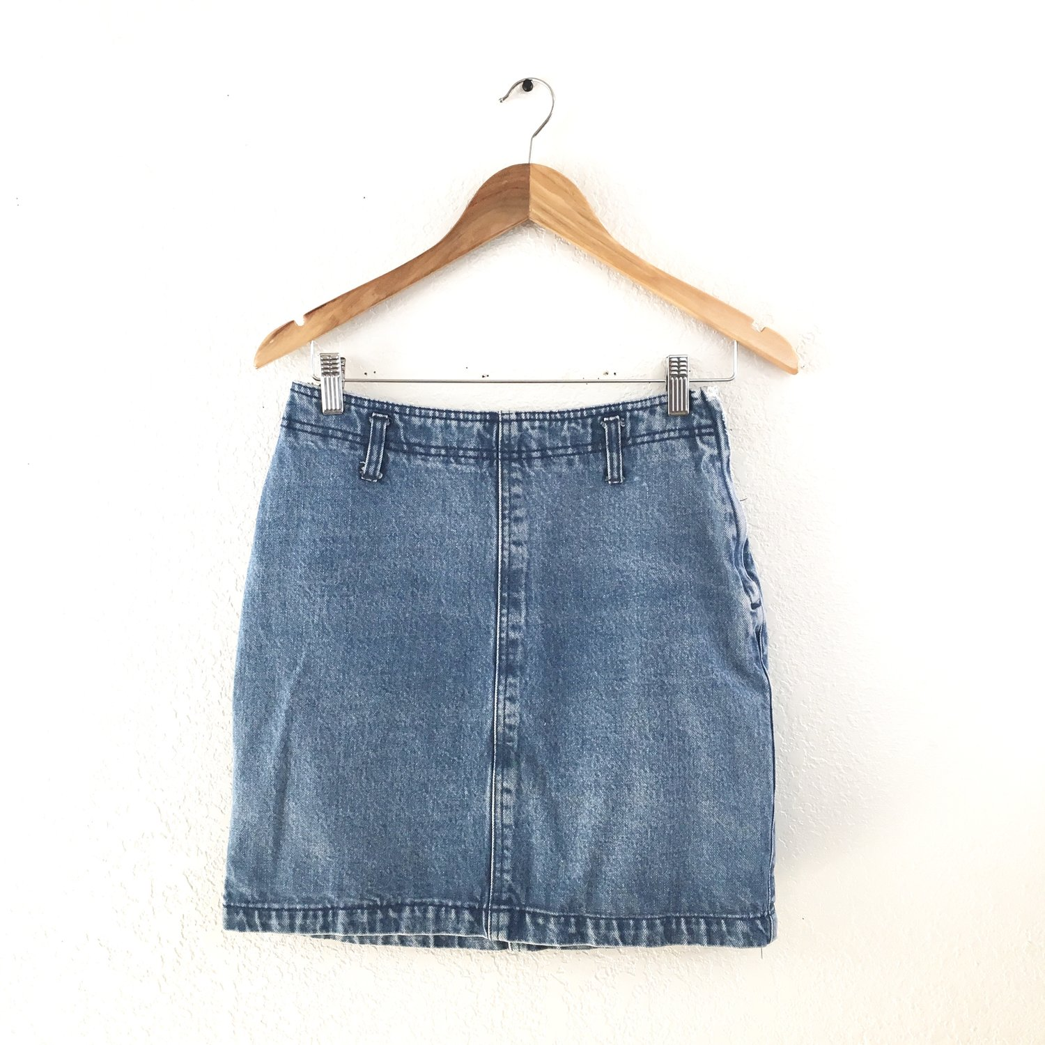 3051c2583b8 Vintage High Waisted Denim Skirt - Gomes Weine AG