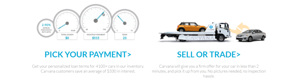 Carvana Finance - Trade In