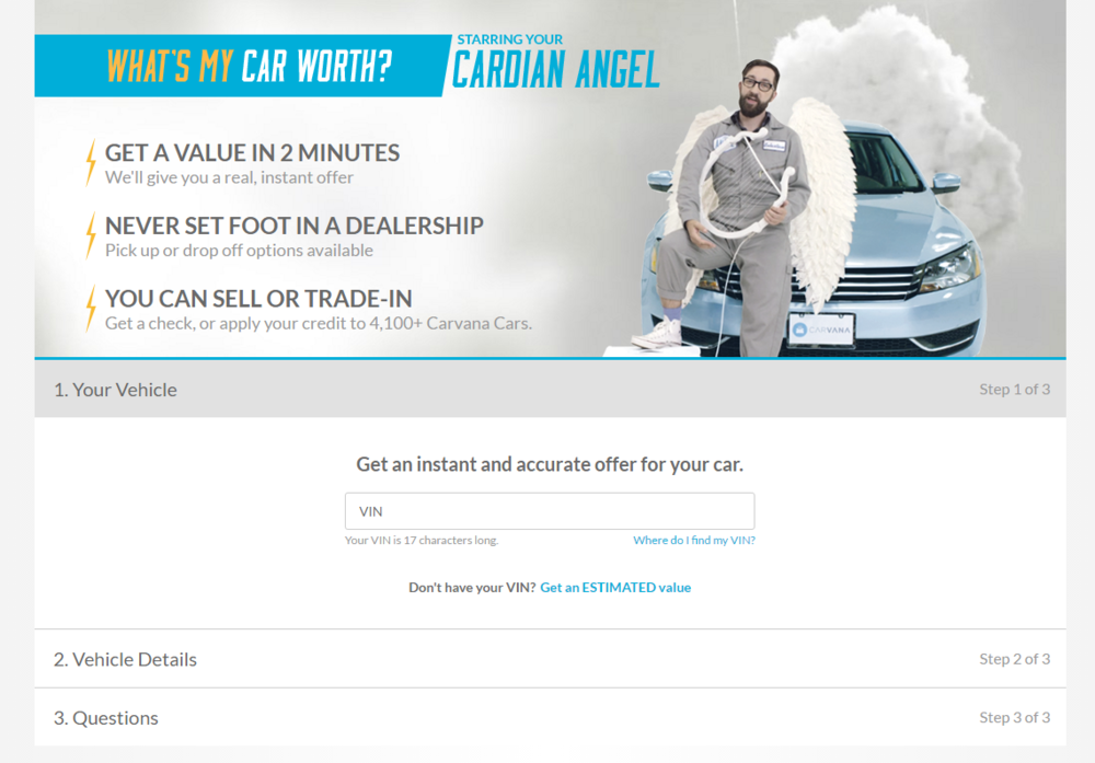 Carvana - sell or trade
