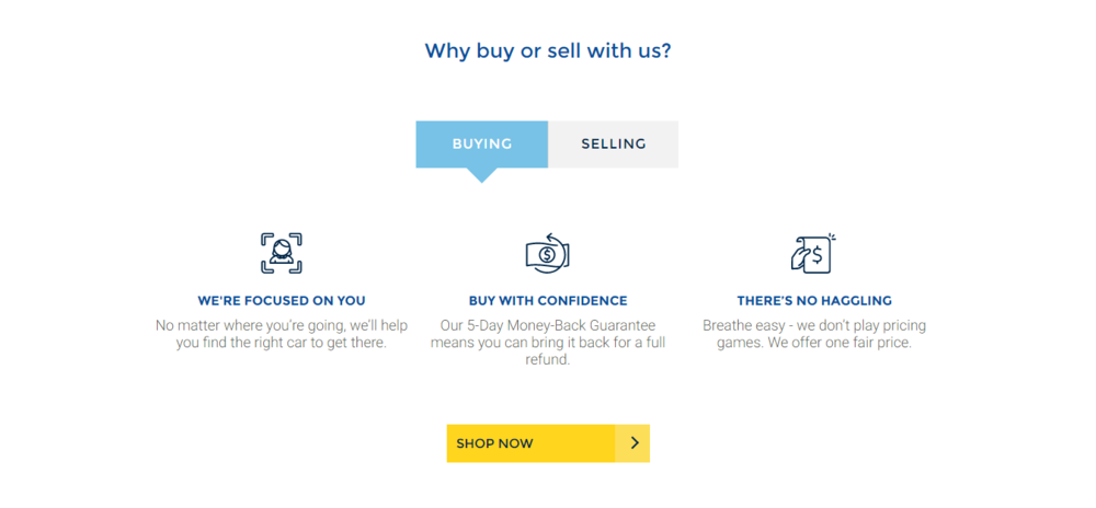 Carmax - Why buy from us