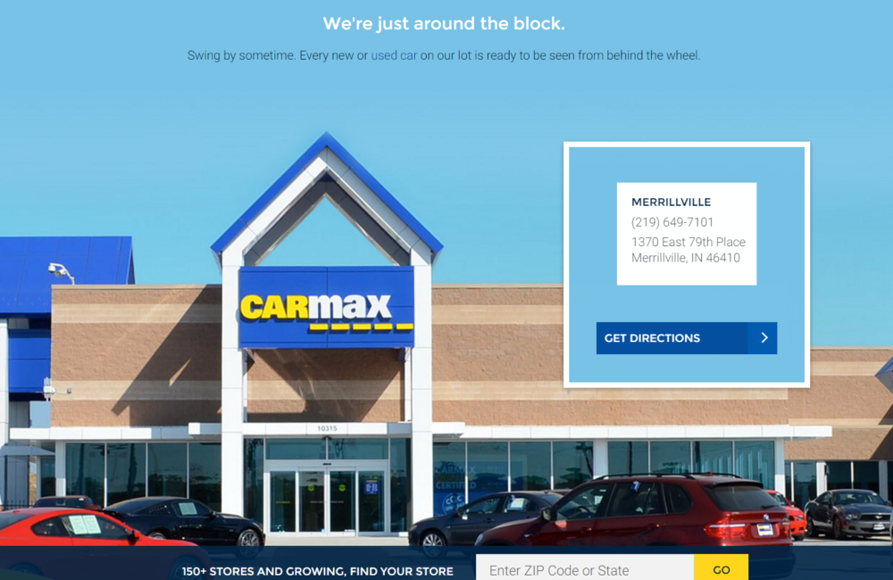 Carmax - Store Locator