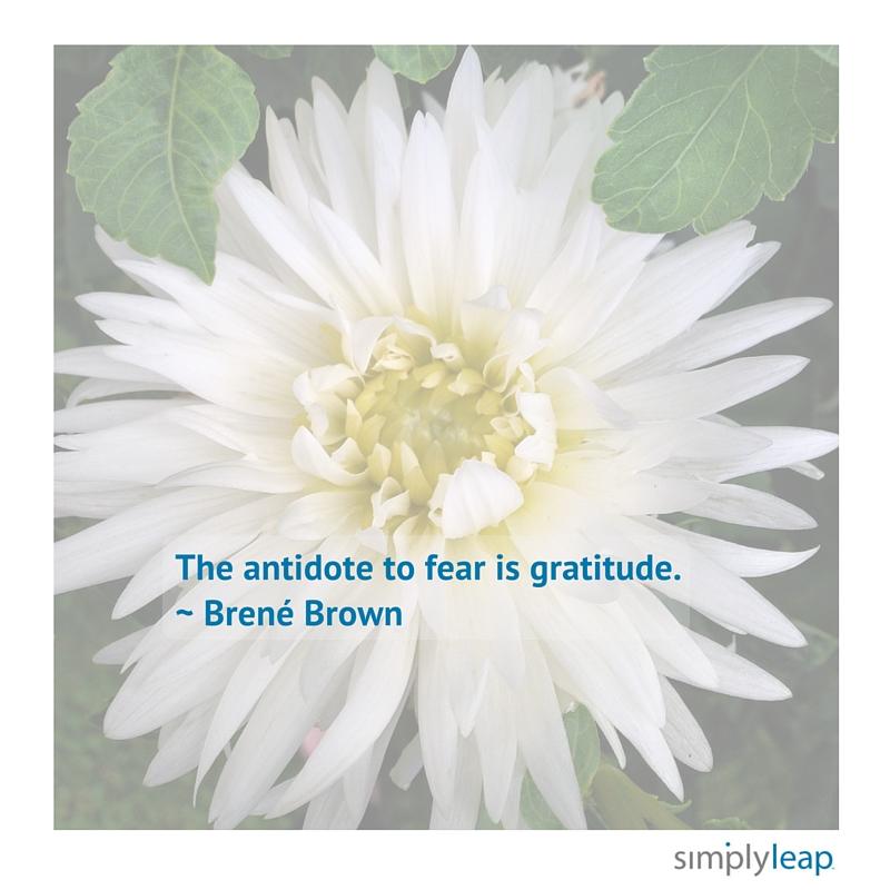 Fear Gratitude