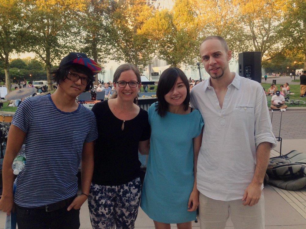 with Yuhan Su, Mareike Wiening, Keisuke Matsuno