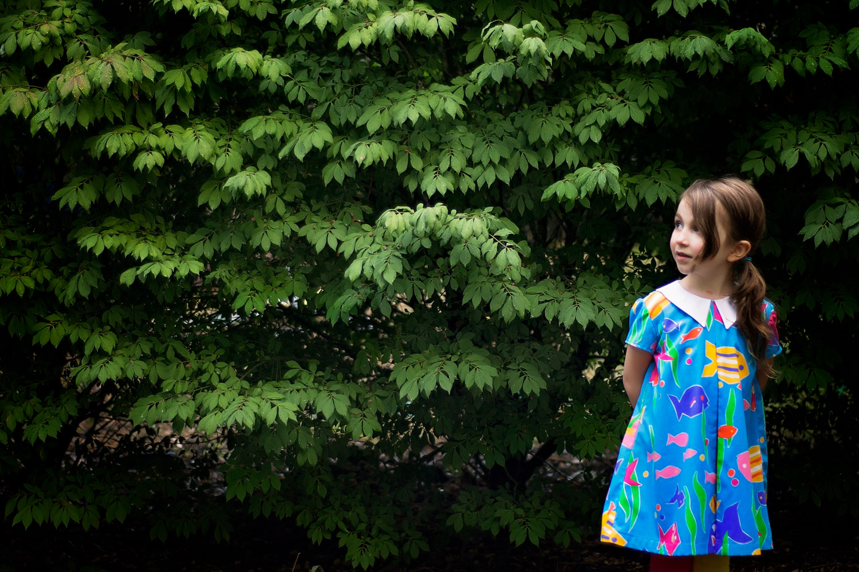 Eleena Dress PDF Pattern Review + another Elm Poncho! — sew chibi ...