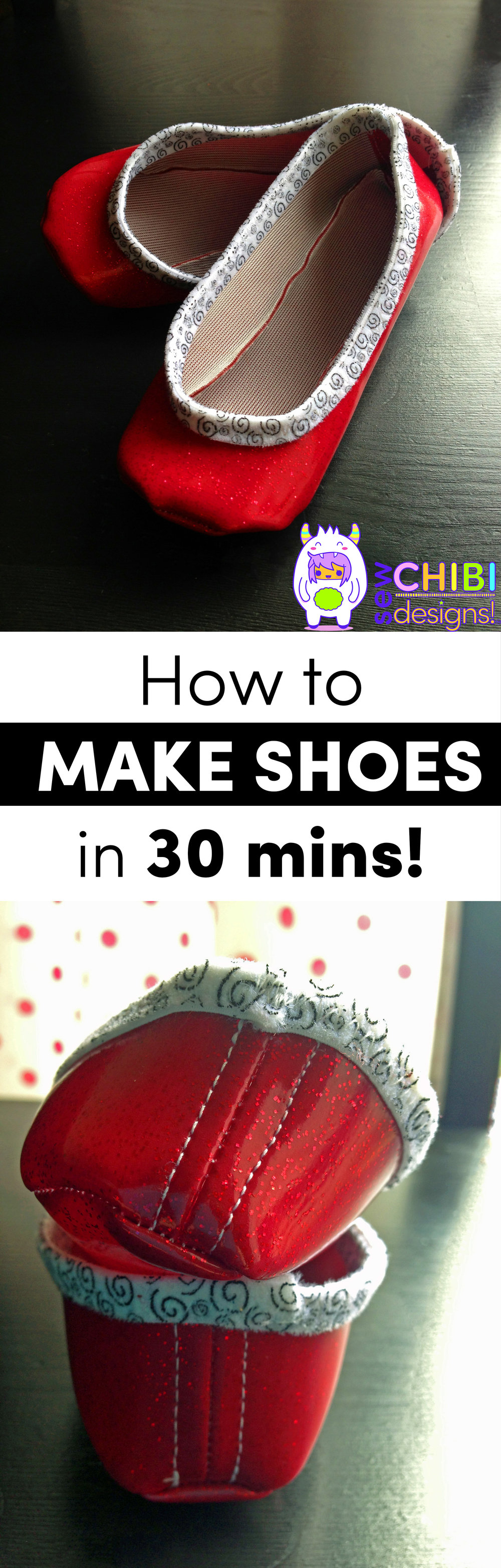 how to make 30 minute shoes