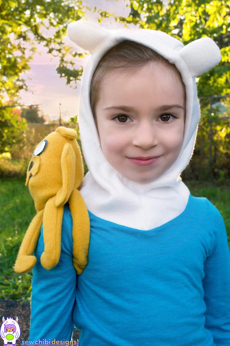 totoro + finn (+jake): a most fantastical halloween cosplay! — sew