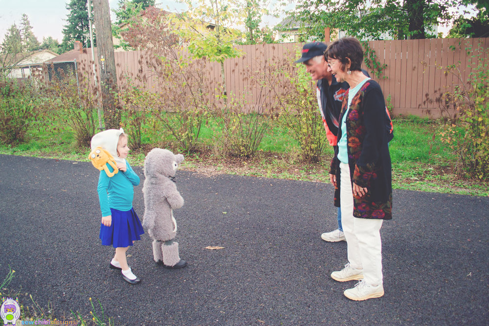 My Neighbor Totoro Roar: Totoro + Finn (+Jake): A Most FANTASTICAL Halloween