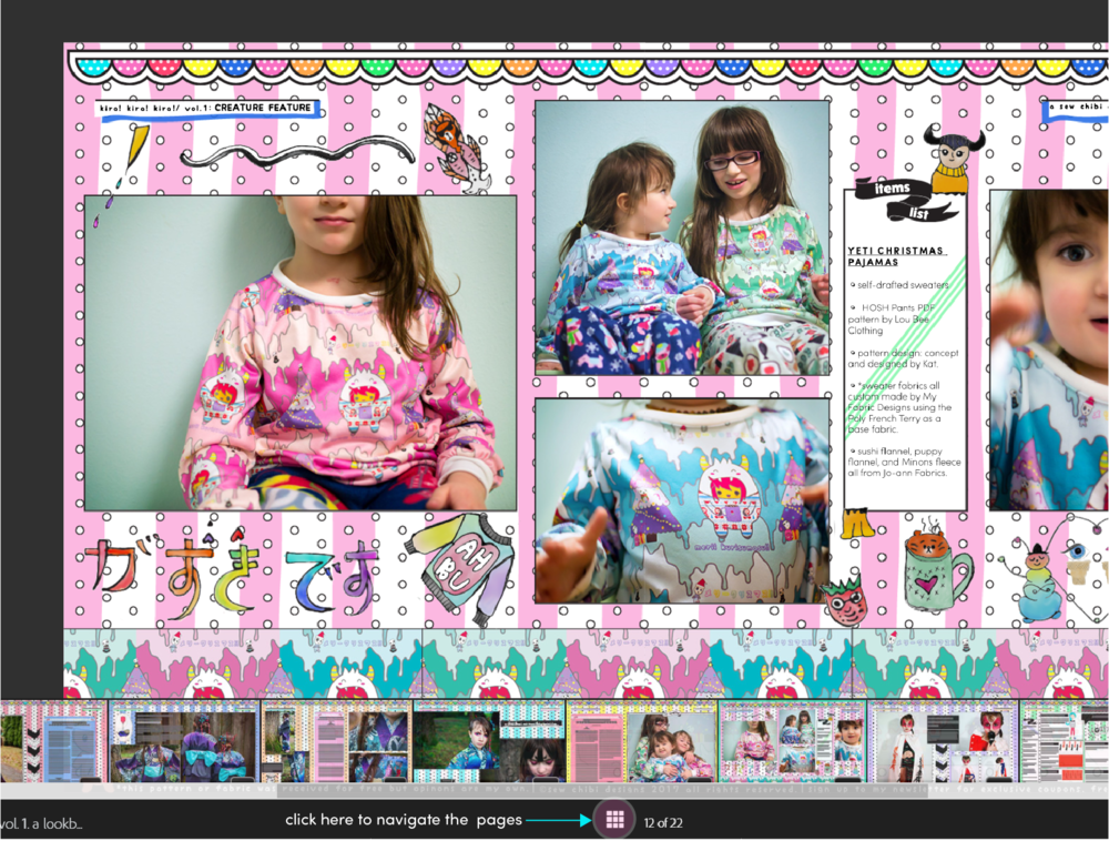 kira kira kira a lookbook by sew chibi designs!