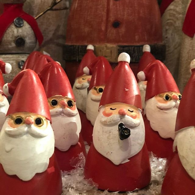 I mean how cute are these little santas!?! We have lots of cute Christmas items at Roots so come see us!. . . . . #southcarolina #yeahthatgreenville #onlyonaugusta #greenvillesc #santa