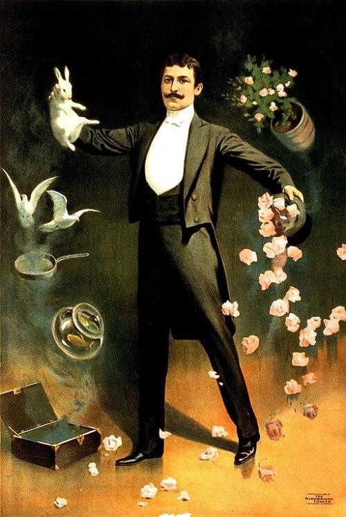 Zan Zig magician poster