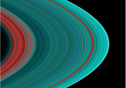 Saturn's A ring