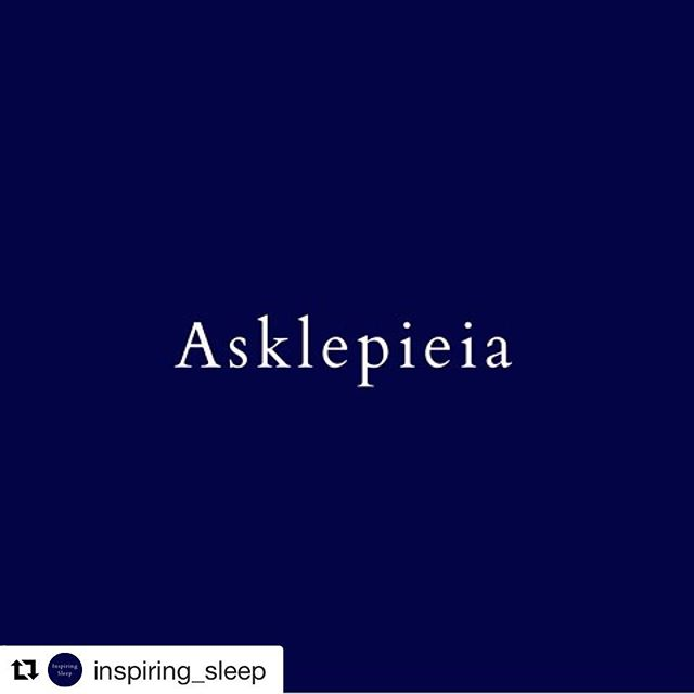 (From my new IG @inspiring_sleep, which features inspirations + information about sleep and dreams.) ・・・ In Ancient Greece, dreams were not only held as sacred, as a means to explore the great mysteries, but working with them was an integral part of the collective approach to medicine and healing. . Physician-priests who followed in the therapeutic traditions of Asclepius—the father of medicine, for whom dreams comprised a centerpiece of his curative approach—created healing temples throughout the ancient Mediterranean region. These temples were known as Asklepieia, with about 300 documented ancient temples of dream healing having been found. . Those looking for healing would travel far and wide to go to an Asklepian temple, where they would engage in a series of rituals before sleeping in a sacred dreaming chamber. It is said that through their dreams, they received treatment advice and/or insights that the Asklepion's physicians-priests would interpret when they would awaken. . Every time I think about the Asklepieia I get so inspired. It was my discovery of these sacred healing temples that deepened my interest in dreamwork, including in connecting to practices that could sanctify sleep and dreaming. Bringing this ancient wisdom to our modern-day lifestyle is at the foundation of my work with sleep and dreams, which I share in my teachings, and which I will share with you throughout Inspiring Sleep.