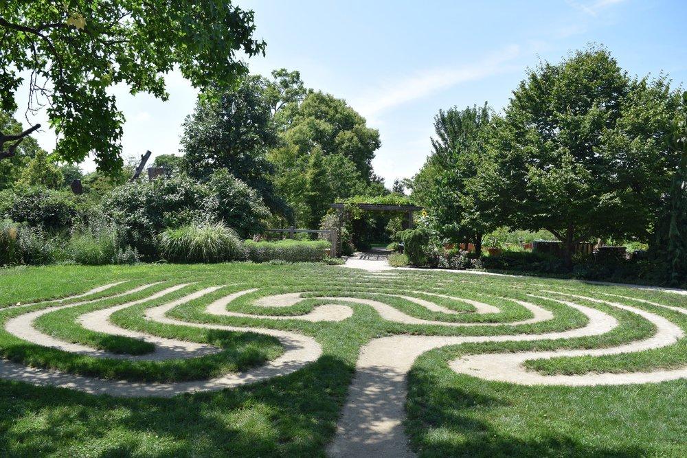 Outdoor Gardens, Garfield Park Conservatory
