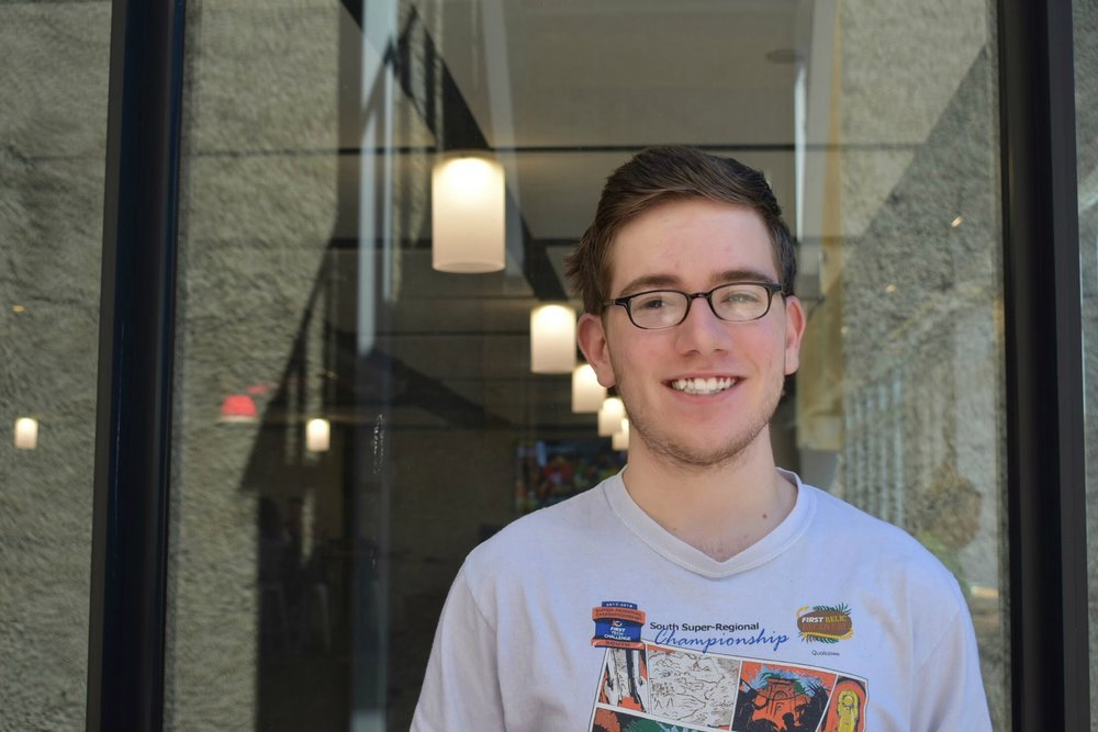 """Now I have a lot of people that can help me out with anything I need. Having all this people around me just make me realize how much I'm going to miss them.""  - David Schooler (LCS '18)"